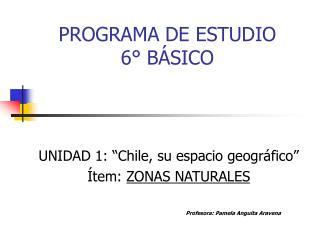 PROGRAMA DE ESTUDIO 6  B SICO