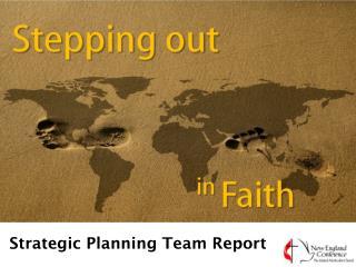 Strategic Planning Team Report