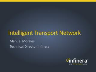 Intelligent Transport Network