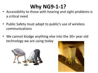 Why NG9-1-1?
