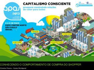 CONHECENDO O COMPORTAMENTO DE COMPRA DO SHOPPER Christine  Pereira –  Kantar Worldpanel