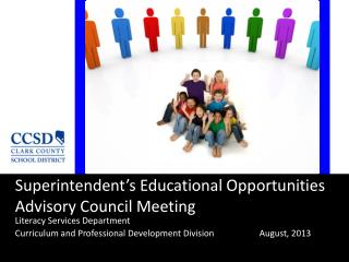 Superintendent's Educational Opportunities Advisory Council Meeting