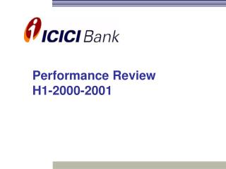 Performance Review H1-2000-2001