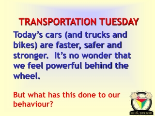 Transportation -  Get It Done