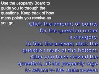 Roman  Jeopardy