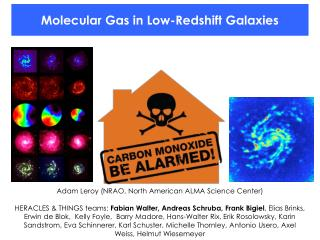 Molecular Gas in  Low- Redshift  Galaxies