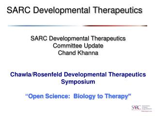 SARC Developmental Therapeutics