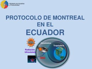 PROTOCOLO DE MONTREAL EN EL  ECUADOR