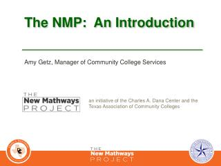 The NMP:  An Introduction