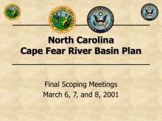 North Carolina  Cape Fear River Basin Plan