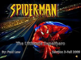 The Ultimate Superhero
