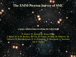 The XMM-Newton Survey of SMC