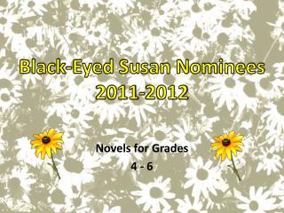 Novels for Grades 4 - 6