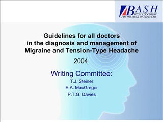 Guidelines for all doctors in the diagnosis and management of ...
