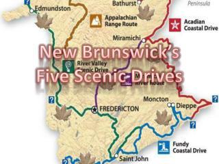 New Brunswick's  Five Scenic Drives