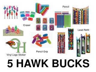 5 HAWK BUCKS