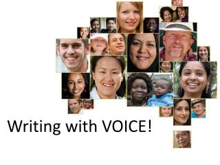 Writing with VOICE!