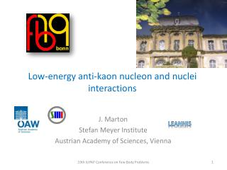 Low- energy  anti- kaon nucleon and nuclei interactions