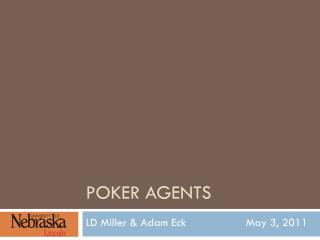 Poker Agents