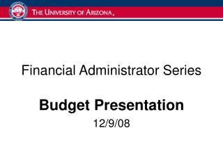 Budget Presentation 12908