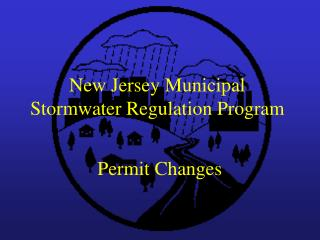 New Jersey Municipal Stormwater Regulation Program