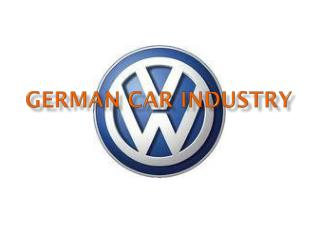 German  Car Industry