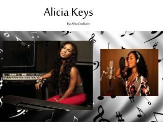 Alicia Keys by:  Ailea Daddairo