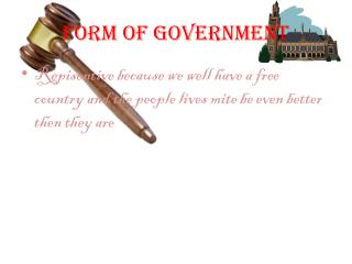 Form of Government