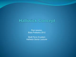 Halliwick Concept