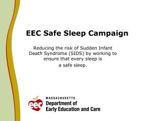 EEC Safe Sleep Campaign