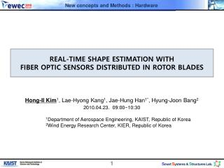 REAL-TIME  SHAPE  ESTIMATION  WITH  FIBER OPTIC SENSORS DISTRIBUTED IN ROTOR BLADES