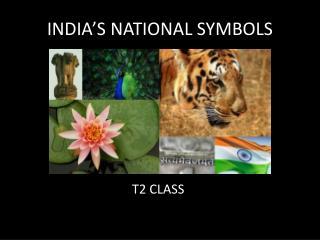 INDIA�S NATIONAL SYMBOLS