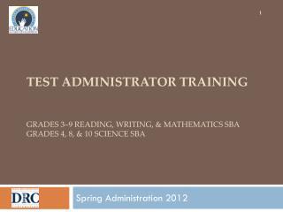 Spring Administration 2012