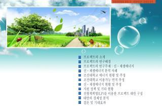 선형계획법을 통한  신ㆍ재생에너지  경제성 분석
