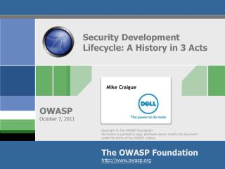 Security Development Lifecycle: A History in 3 Acts