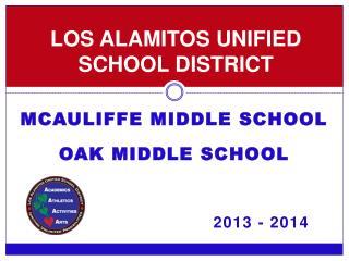 LOS ALAMITOS UNIFIED SCHOOL DISTRICT