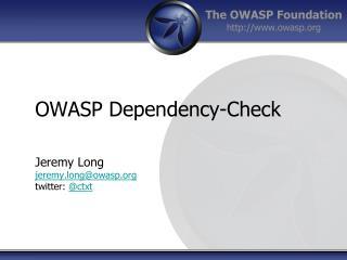 OWASP Dependency-Check