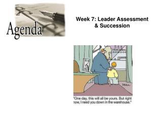 Leader Assessment & Succession