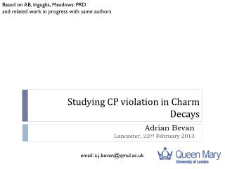 Studying CP violation in Charm Decays