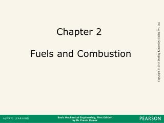 Chapter 2  Fuels and Combustion