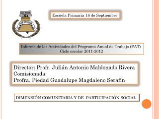 Escuela Primaria 16 de Septiembre