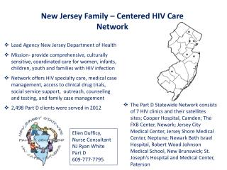 New Jersey Family – Centered HIV Care Network