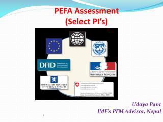 PEFA Assessment (Select PI's)