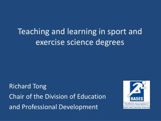 Teaching and learning in sport and exercise science degrees