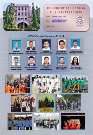Alumni    :  CETAA ,  Kuwait Chapter Email  :  cetaakuwait@yahoo.com