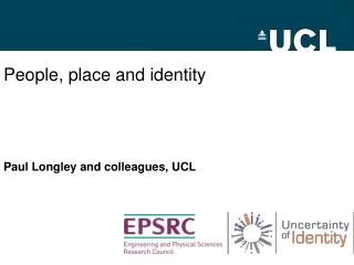 People, place and identity