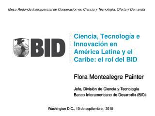 Ciencia, Tecnología e Innovación en América Latina y el Caribe: el rol del BID