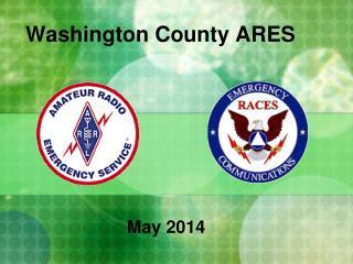 Washington County ARES