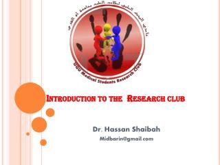 Introduction to the  Research club