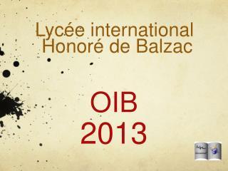 OIB 2013